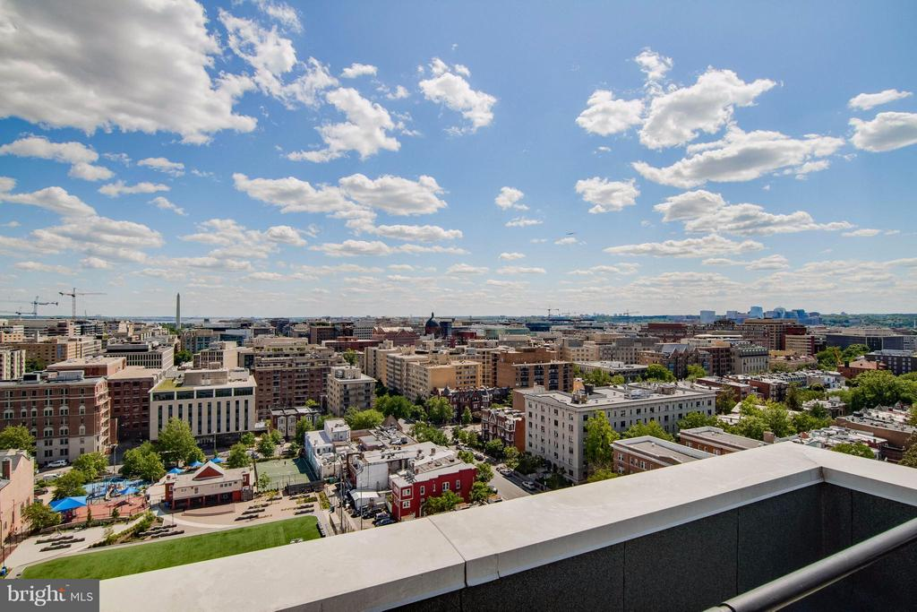 Rooftop view - 1615 Q ST NW #1210, WASHINGTON