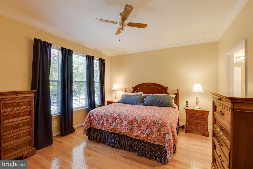Main level master bedroom - 9745 CRAIGHILL DR, BRISTOW