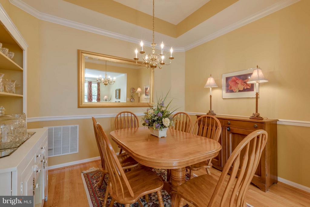 Formal Dining Room - 9745 CRAIGHILL DR, BRISTOW