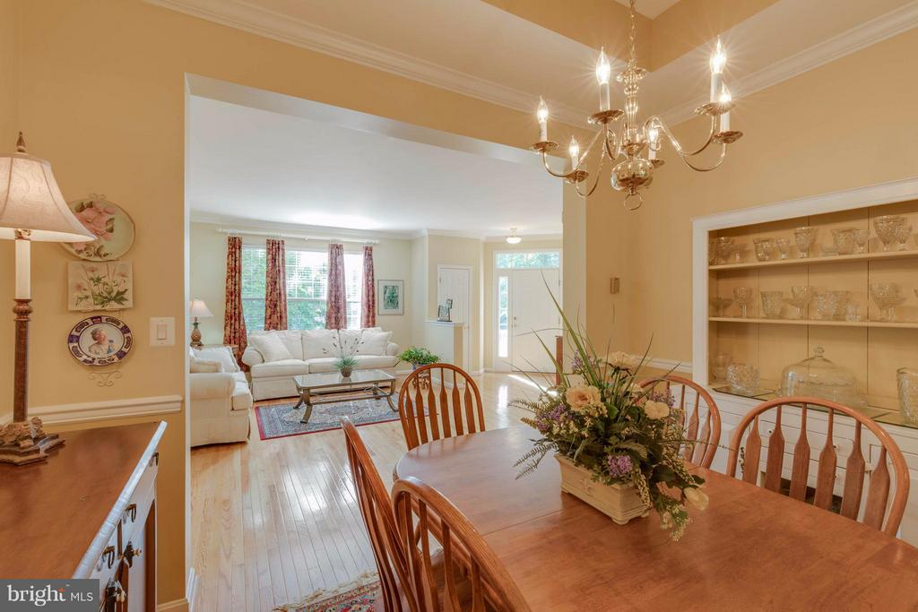 Dining Room - 9745 CRAIGHILL DR, BRISTOW