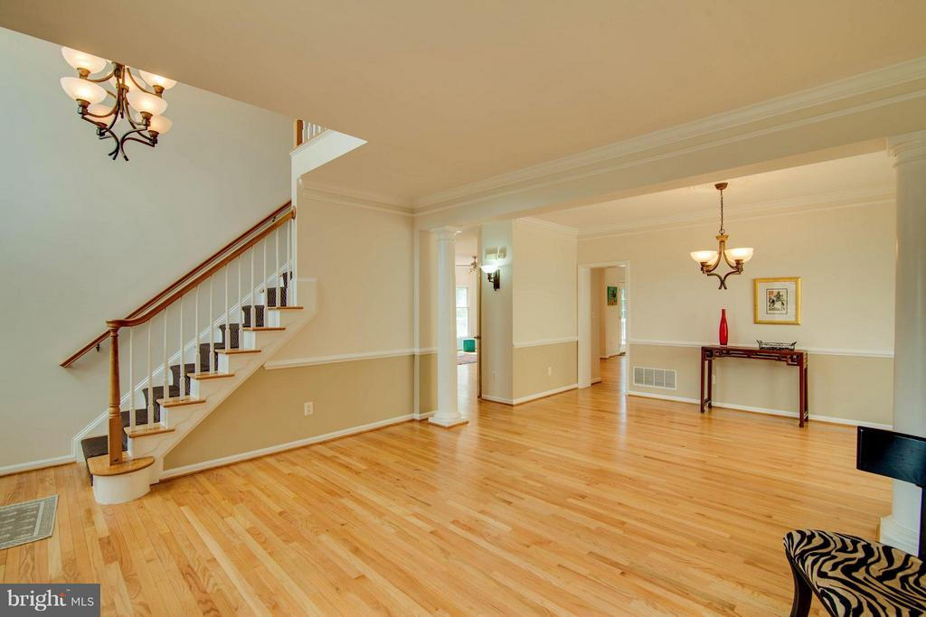 Living Room - 10802 CRIPPEN VALE CT, RESTON