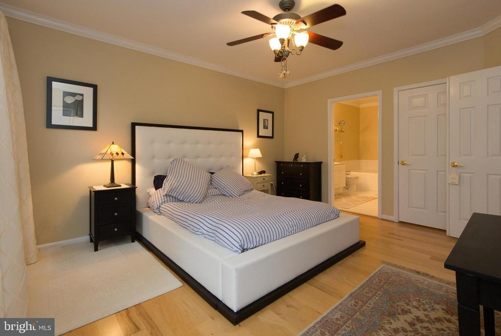 Large Master suite with hardwood and closet space - 5112 DONOVAN DR #203, ALEXANDRIA