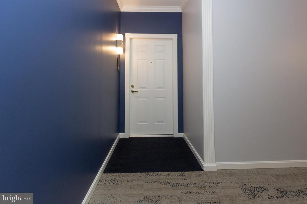 Bright open entryway - 5112 DONOVAN DR #203, ALEXANDRIA