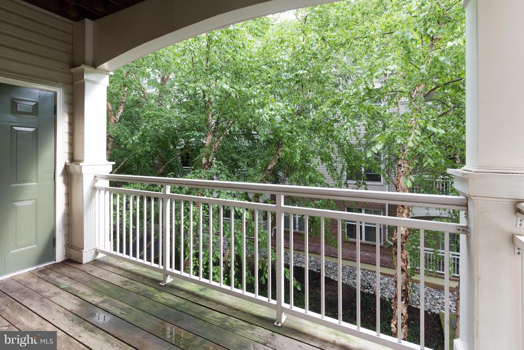 Enjoy summer evenings on the private balcony! - 5112 DONOVAN DR #203, ALEXANDRIA