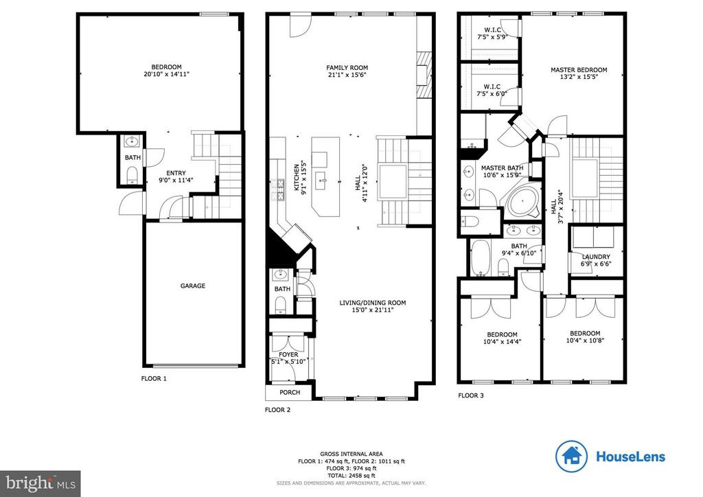 2 D floor plan with approx dimensions - 6927 COUNTRY CLUB TER, NEW MARKET