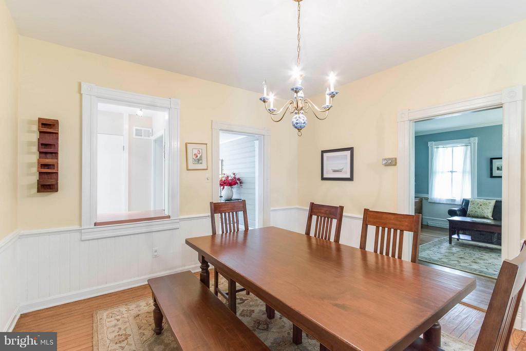 Dining Room - 7321 WOLF RUN SHOALS RD, FAIRFAX STATION
