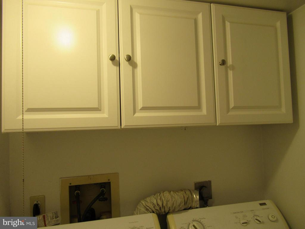 Great Cabinets in Laundry Room - 308 GALAXIE DR, FREDERICKSBURG