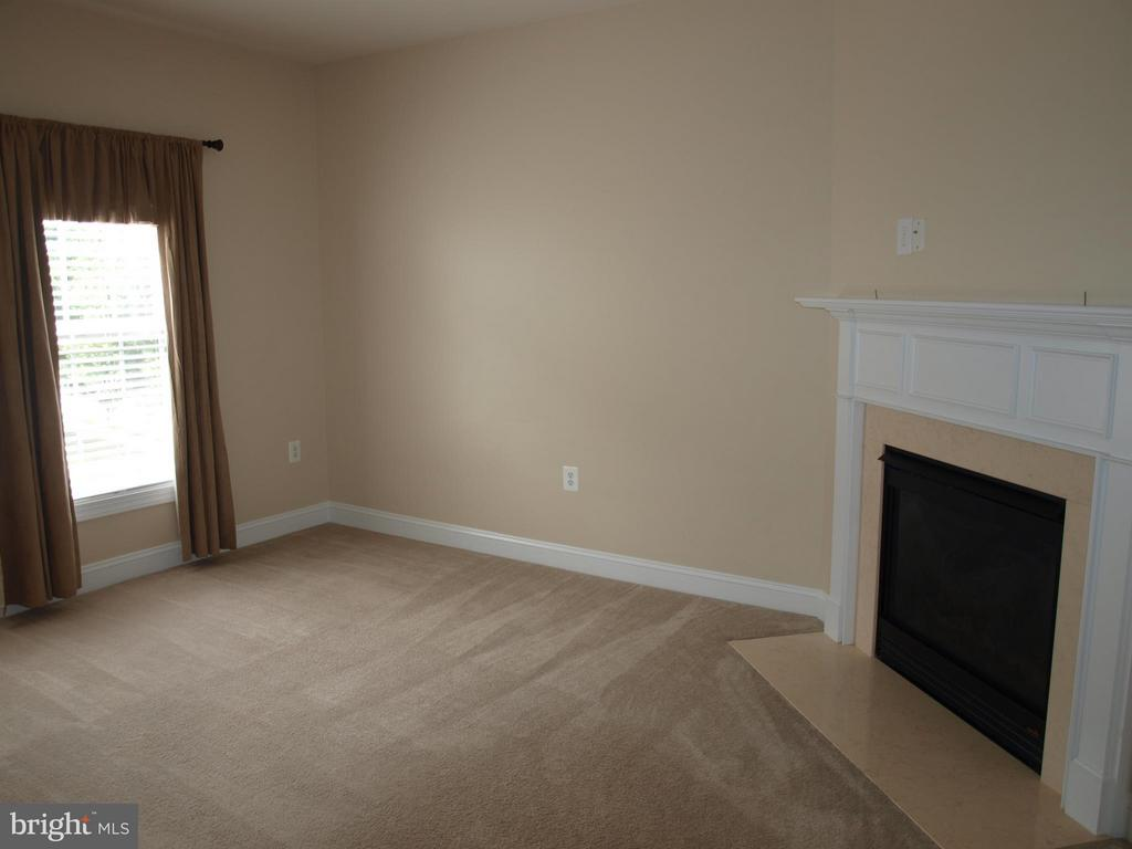 Master Sitting Room w/Fireplace - 206 LAWSON RD SE, LEESBURG
