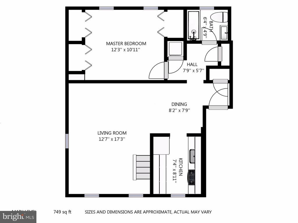 First Floor - 2729 ORDWAY ST NW #5, WASHINGTON