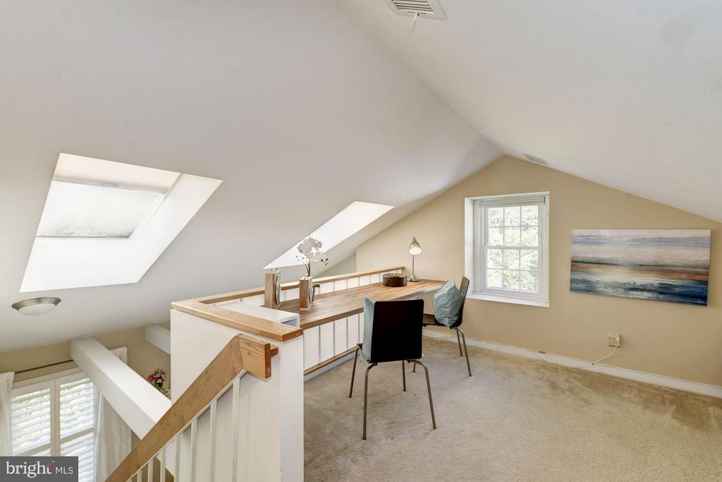 Great Light from 3 Skylights - 2729 ORDWAY ST NW #5, WASHINGTON