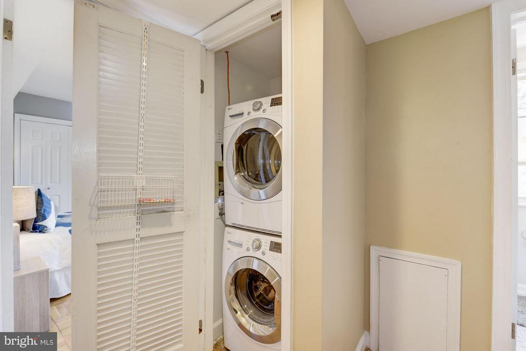 Stacked Front Load LG Laundry installed in 2015 - 2729 ORDWAY ST NW #5, WASHINGTON