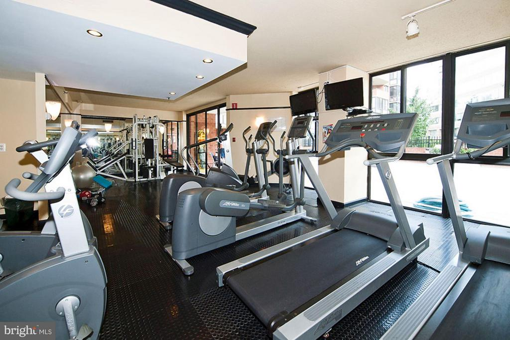 Fitness Center - 1001 RANDOLPH ST #112, ARLINGTON