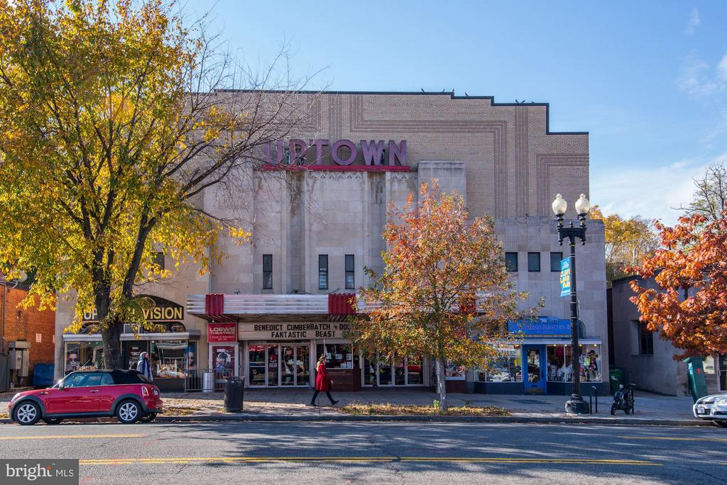 Historic Uptown Theater opened in 1936 - 2729 ORDWAY ST NW #5, WASHINGTON