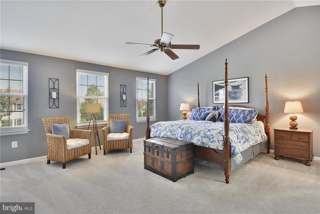 Huge Master Bedroom w/his/her walk-in closets! - 20977 DEER RUN WAY, ASHBURN