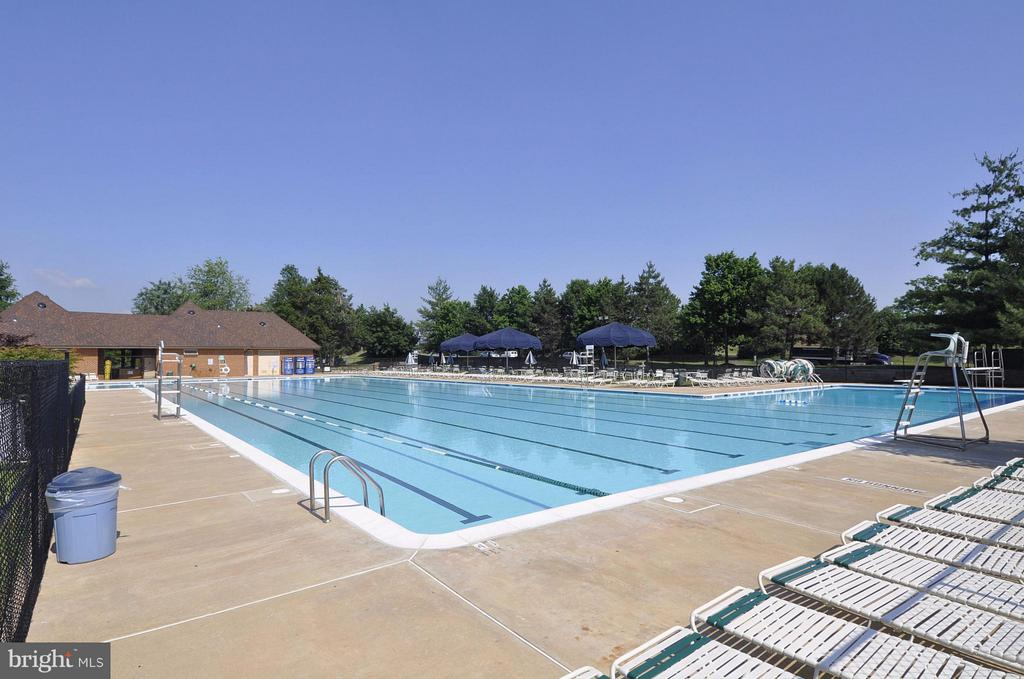 Community Pool 1 of 3 pools - 20977 DEER RUN WAY, ASHBURN