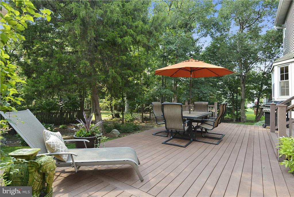 Composite-made deck! - 20977 DEER RUN WAY, ASHBURN