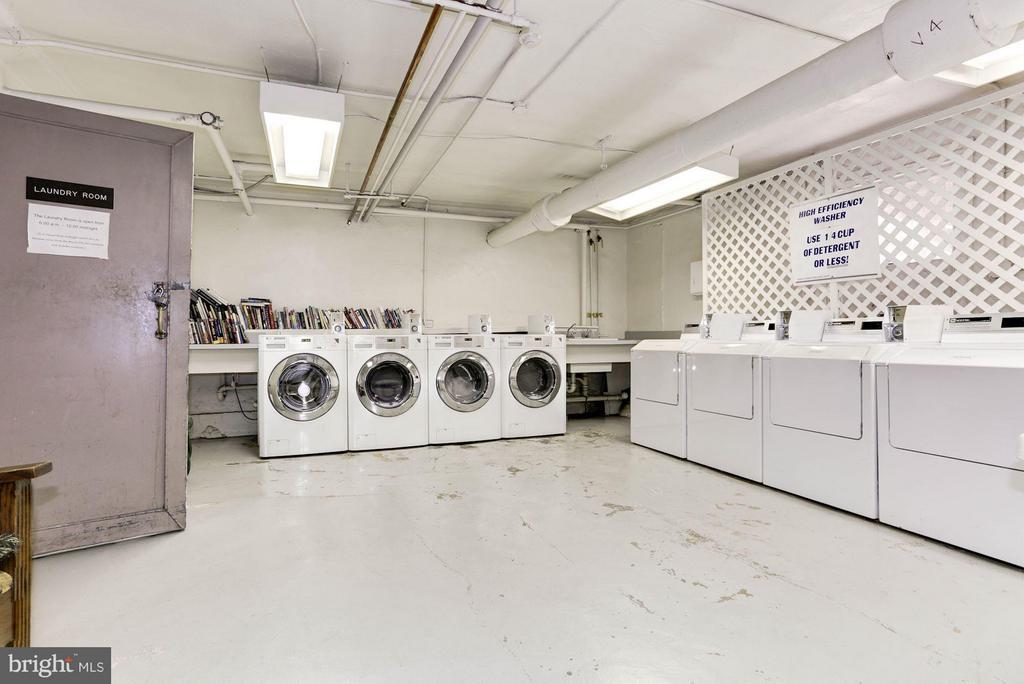 Laundry Room - 2039 NEW HAMPSHIRE AVE NW #209, WASHINGTON