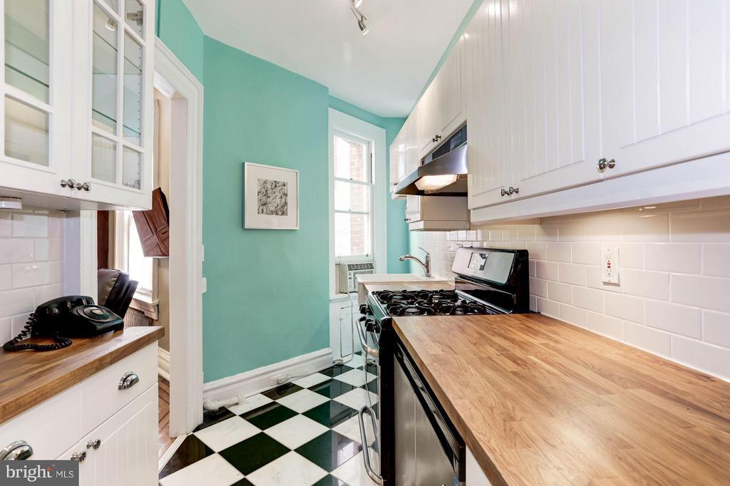 Newly updated kitchen - 2039 NEW HAMPSHIRE AVE NW #209, WASHINGTON