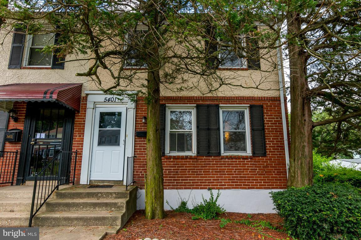 Photo of home for sale at 5401 Belle Vista Avenue, Baltimore MD