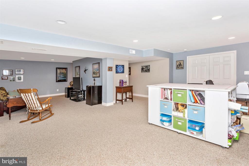 Rec Room in basement - 3450 BASFORD RD, FREDERICK