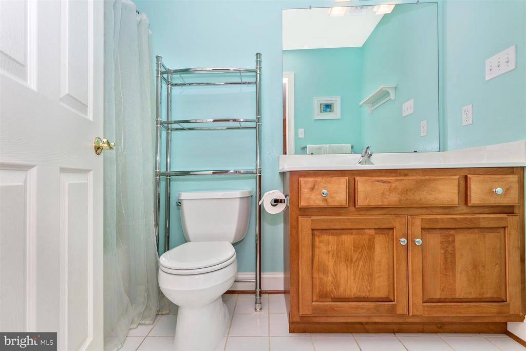 Full bath in bedroom 2 - 3450 BASFORD RD, FREDERICK