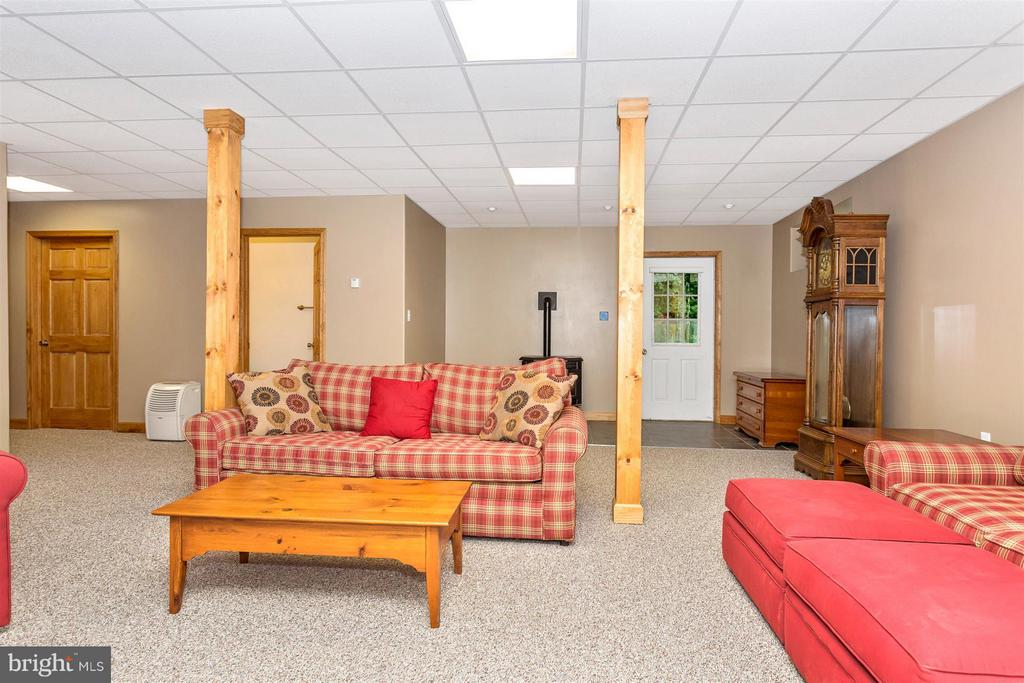 Basement family room - 14112 CLEARWOOD CT, MOUNT AIRY