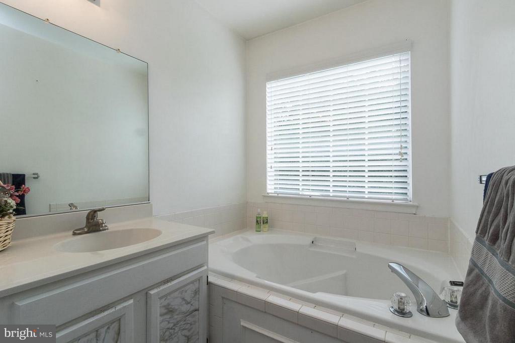 Separate Soaking Tub & Shower in Master Bath - 17299 SLIGO LOOP, DUMFRIES