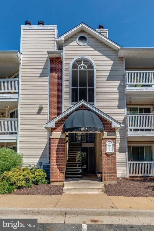 Exterior (Front) - 1538 LINCOLN WAY #103, MCLEAN