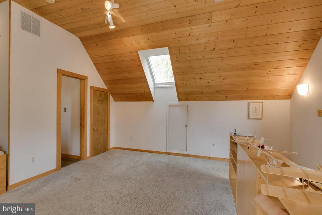 Upper Level Loft  with New Skylight - 4398 STEPNEY DR, GAINESVILLE