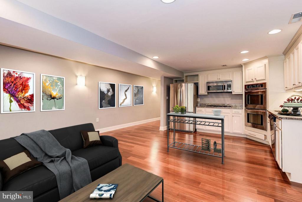 Living Area (3 of 3) - 1104 EUCLID ST NW #2, WASHINGTON