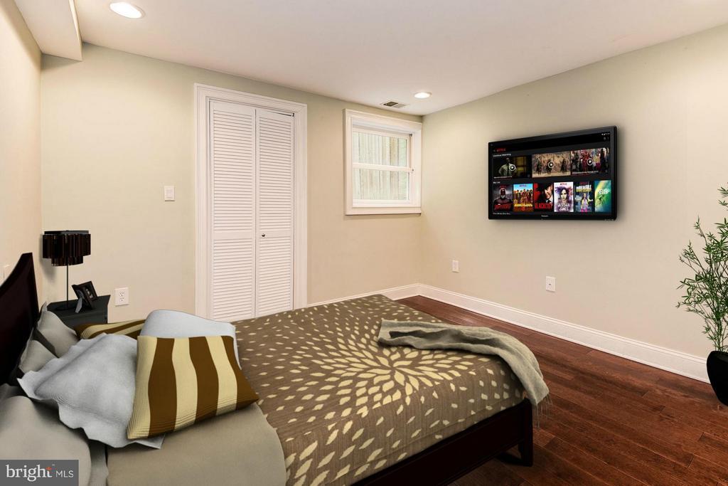 Bedroom (1 of 2) - 1104 EUCLID ST NW #2, WASHINGTON