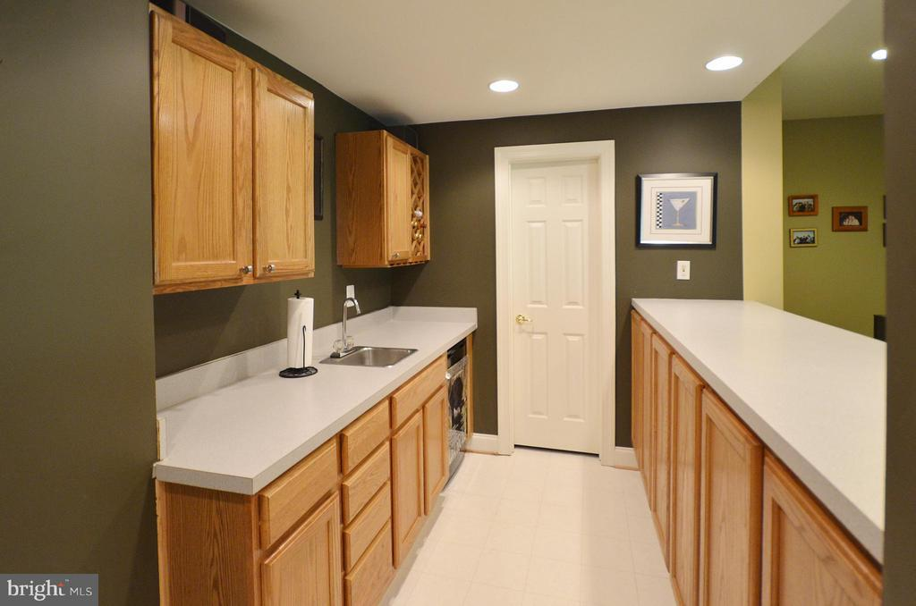Wet Bar with pantry - 42828 FOREST SPRING DR, LEESBURG