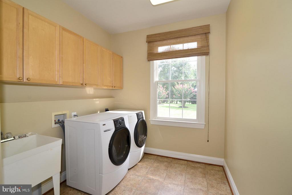 Main level mud room with utility sink - 39637 GOLDEN SPRINGS CT, HAMILTON