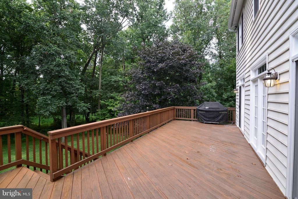 Deck with gas grill - 39637 GOLDEN SPRINGS CT, HAMILTON