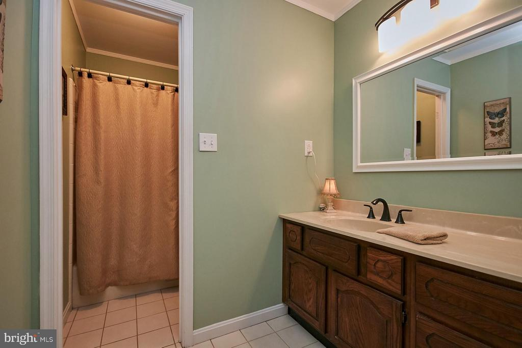 Hall Bathroom - 12213 HENDERSON RD, CLIFTON