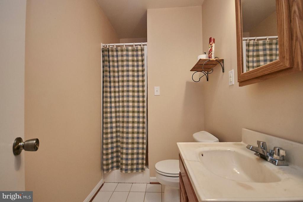 Lower Level Full Bath - 12213 HENDERSON RD, CLIFTON