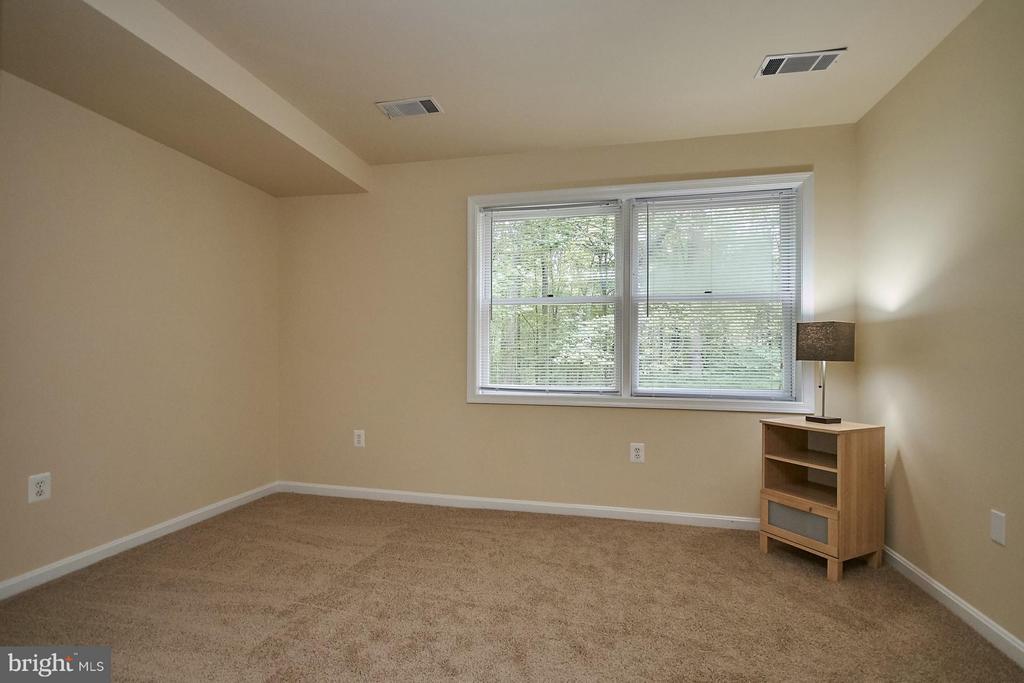 Lower Level Bedroom - 12213 HENDERSON RD, CLIFTON