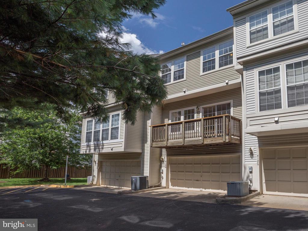 Exterior (Rear) - 4128 FOUNTAINSIDE LN, FAIRFAX