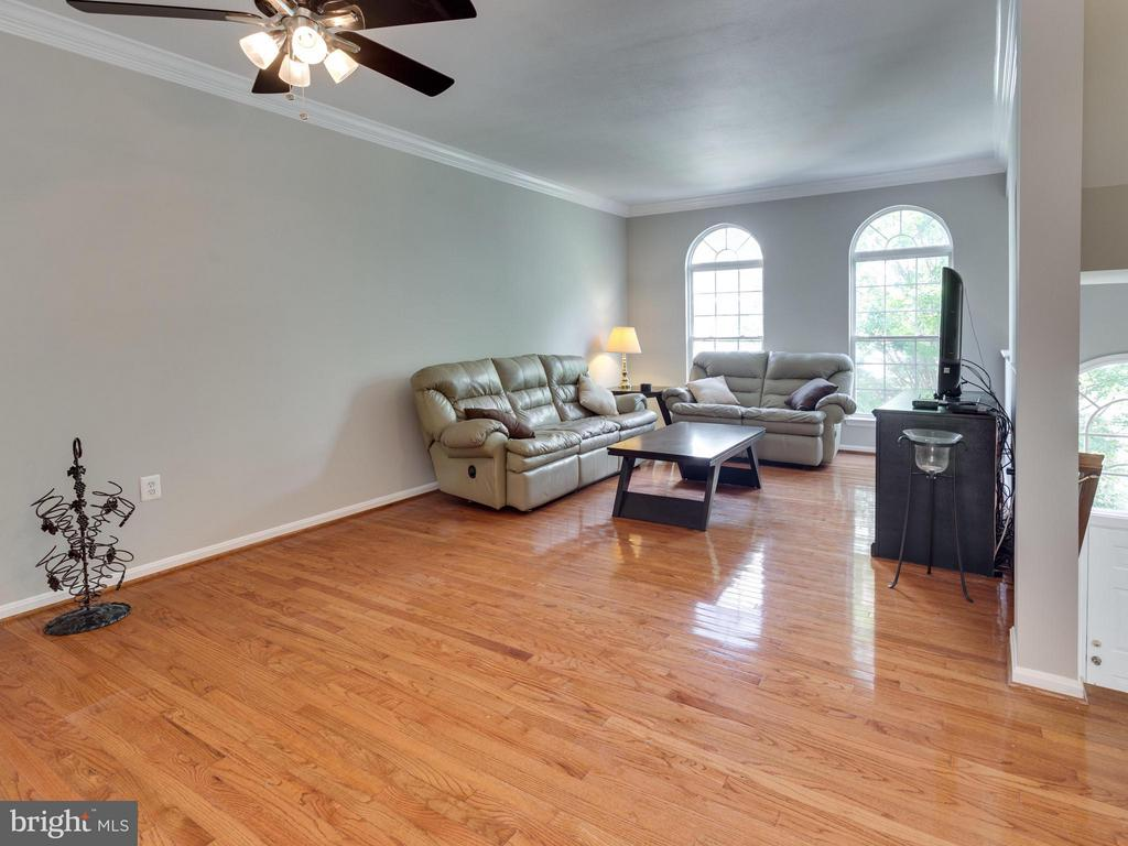 Living Room - 4128 FOUNTAINSIDE LN, FAIRFAX