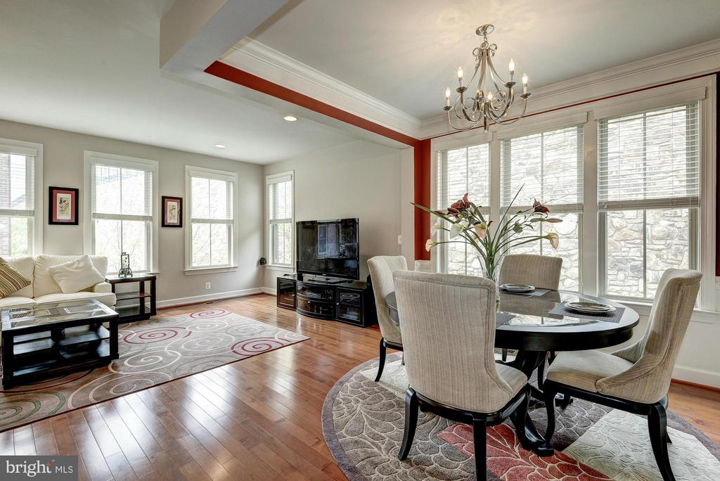 Separate Living and Dining Areas - 2527 KENMORE CT, ARLINGTON