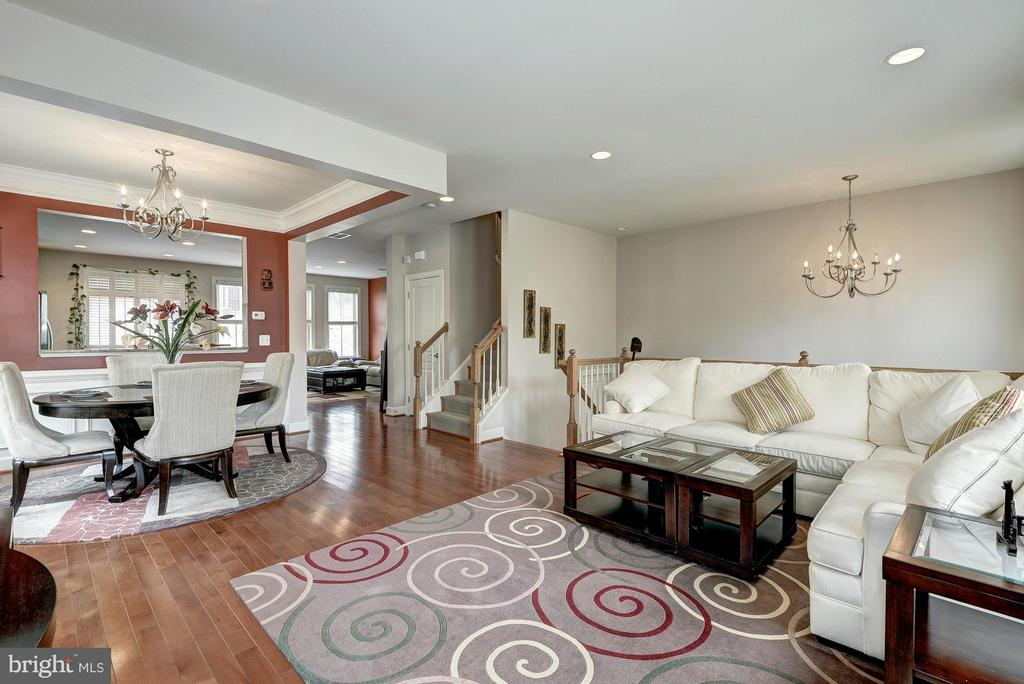 Overview of Main Living Level - 2527 KENMORE CT, ARLINGTON