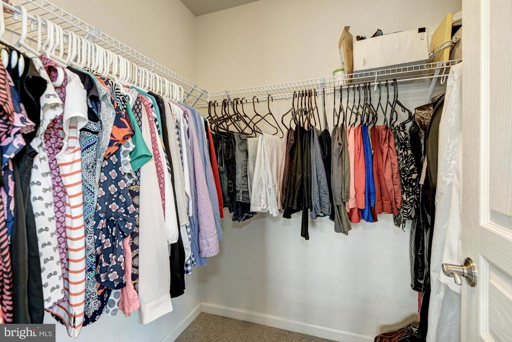 Another Walk-In-Closet in Master BR - 2527 KENMORE CT, ARLINGTON