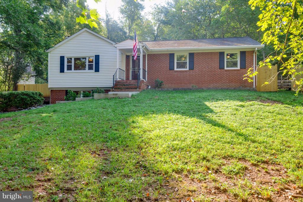 Exterior (Front) - 7805 RUGBY RD, MANASSAS PARK