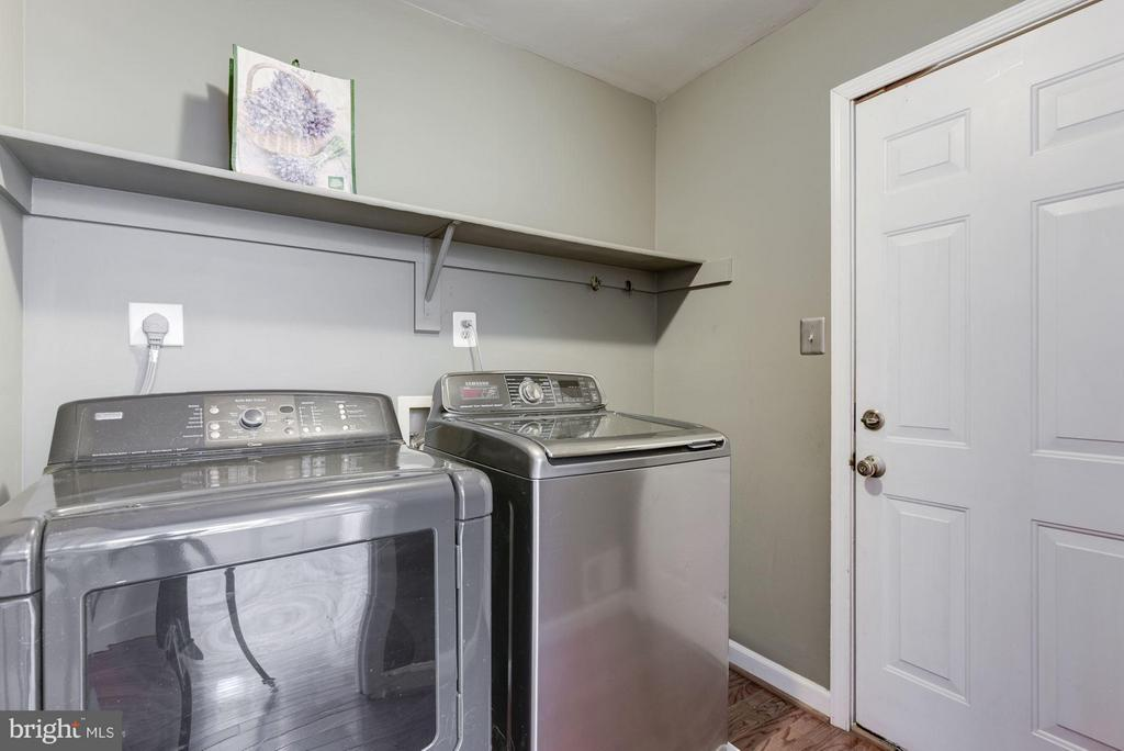 Laundry Room Main Level - 21314 THIMBLEWEED CT, ASHBURN