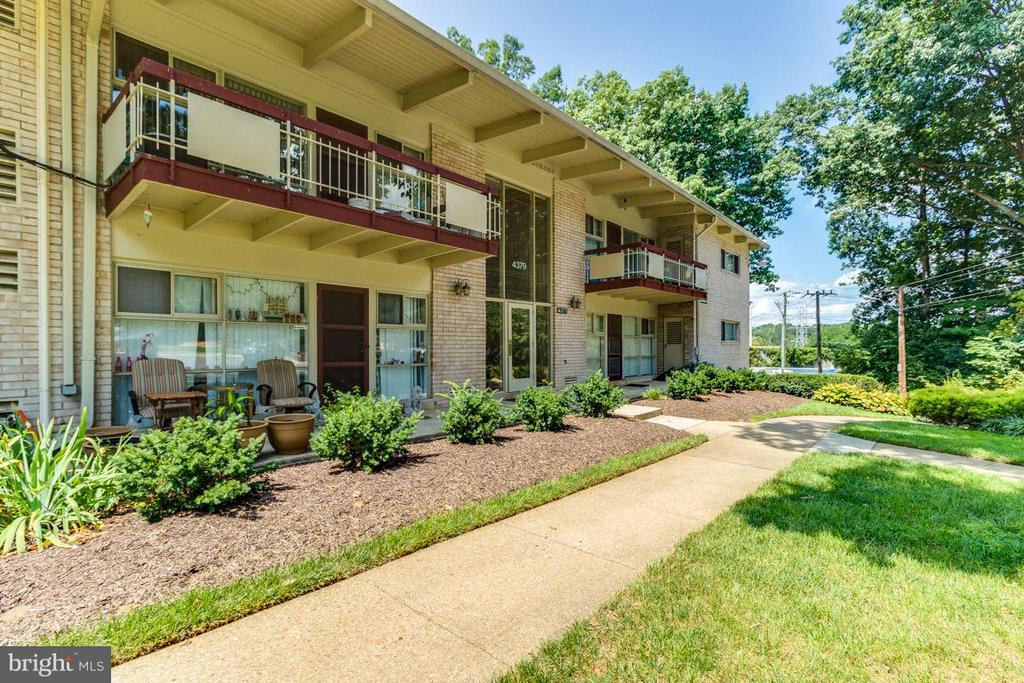 Exterior (Front) - 4379 AMERICANA DR #10, ANNANDALE