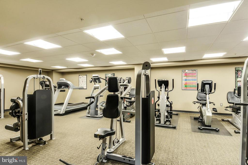 Exercise Room - 7915 EASTERN AVE #316, SILVER SPRING