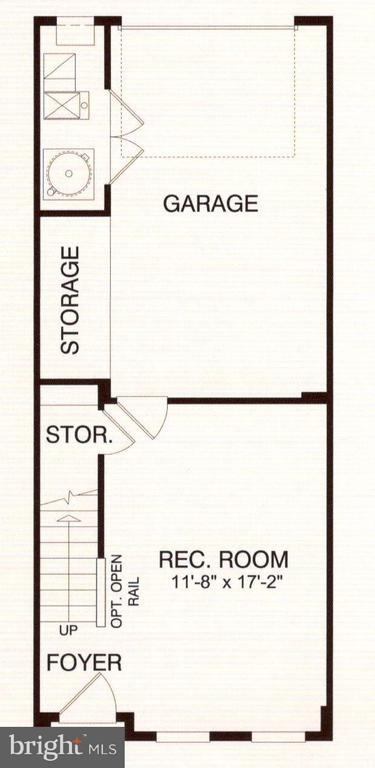 Floor plan 1st Floor - 3072 WATERLOO LN, FAIRFAX