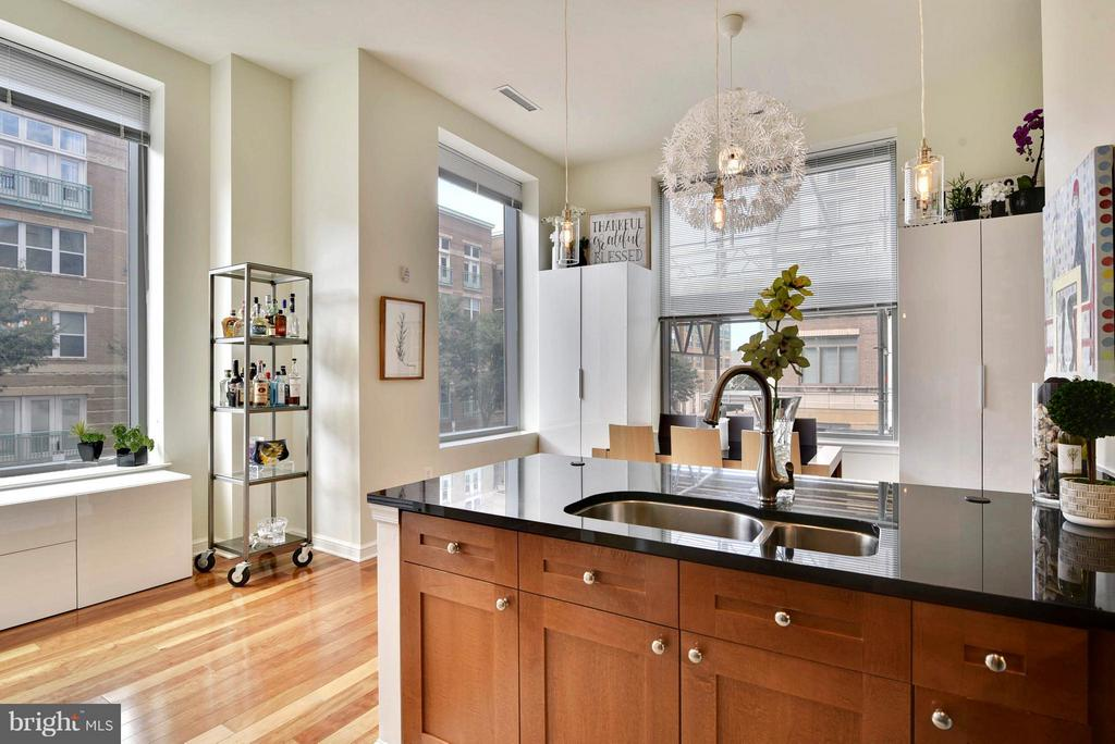 Kitchen - 11990 MARKET ST #101, RESTON