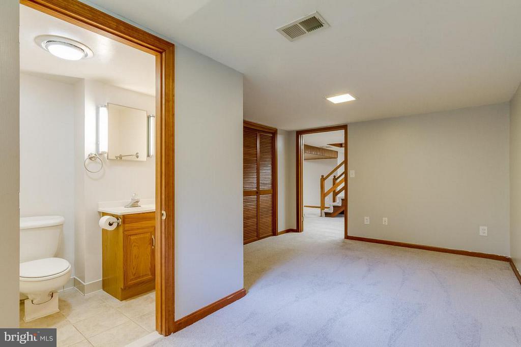 Bedroom (Master) Lower Level - 41 BLUE RIDGE ST, WARRENTON