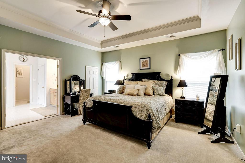 Huge Master Bedroom with 3 walk-in closets! - 8251 LAUREL HEIGHTS LOOP, LORTON